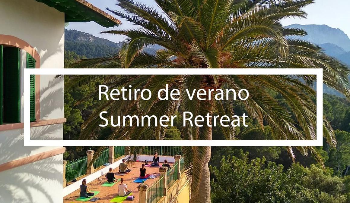Retiro de verano de Yoga en Mallorca con SlowYoga