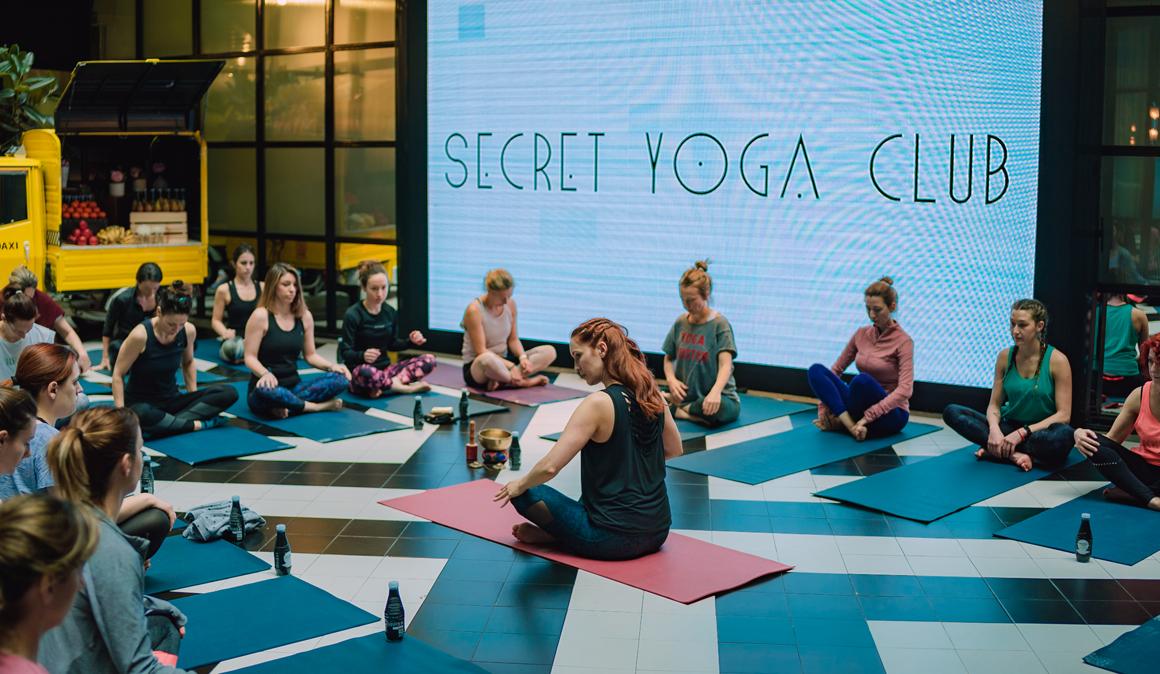 Secret Yoga Club vuelve el 25 de mayo en Madrid