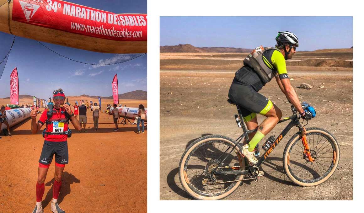 El hombre que ha vencido dos veces seguidas al desierto en 2019