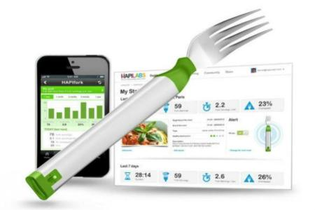 El tenedor inteligente que controla al ritmo que comes