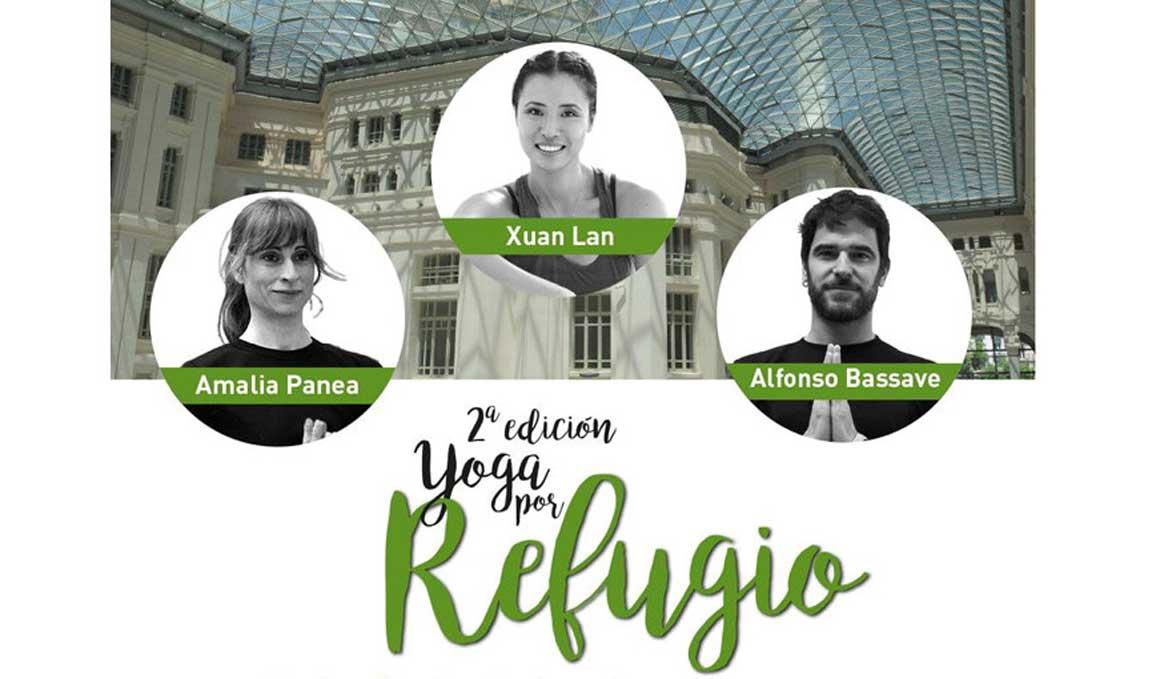 Yoga por Refugio vuelve a Madrid