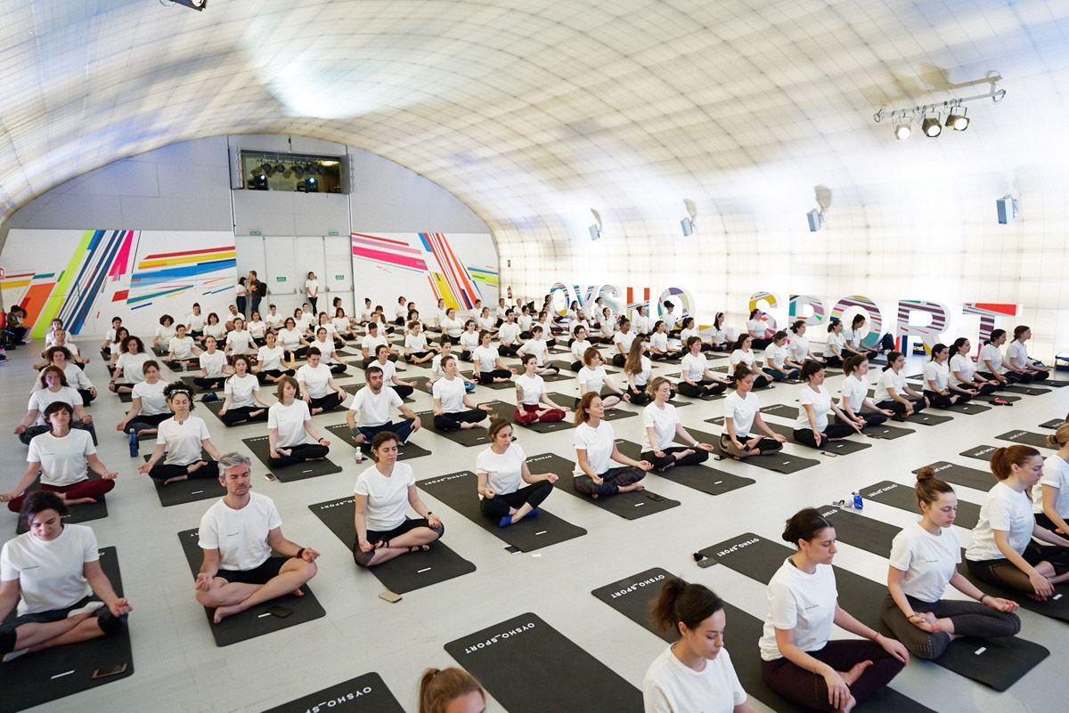 Oysho Yoga se estrena en Madrid