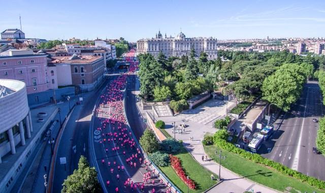 36.000 mujeres llenan Madrid de deporte y solidaridad