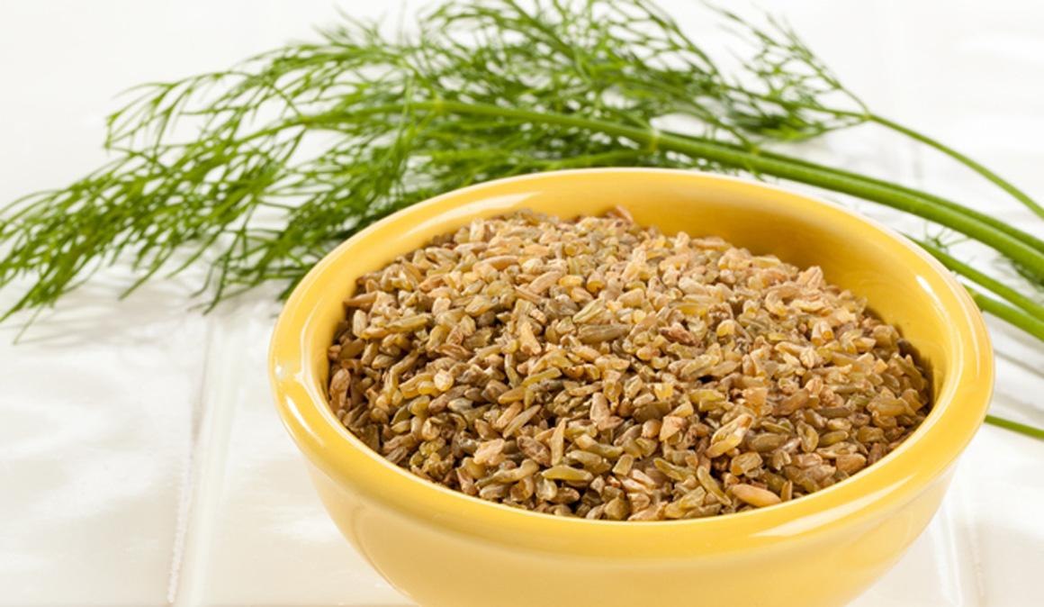 ¿Qué es el trigo verde o farik o freekeh?