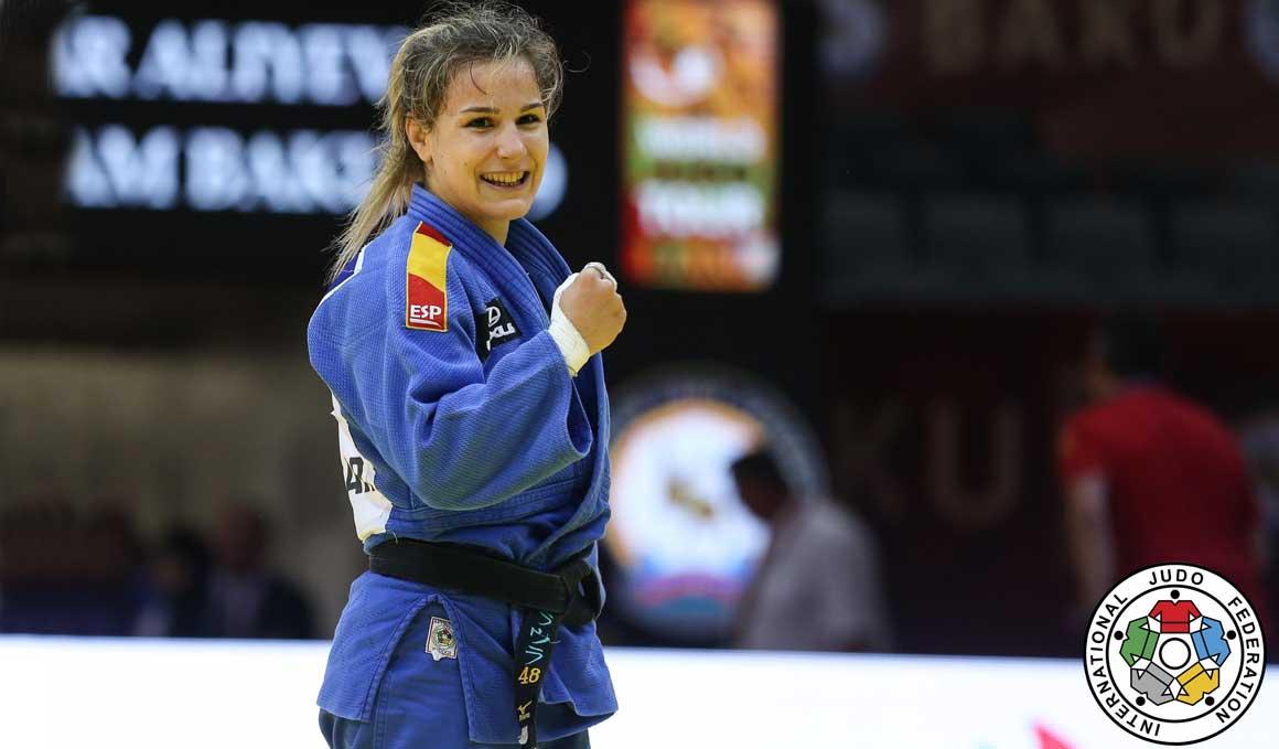 Éxito español en el Grand Slam 2019 de Judo de Baku