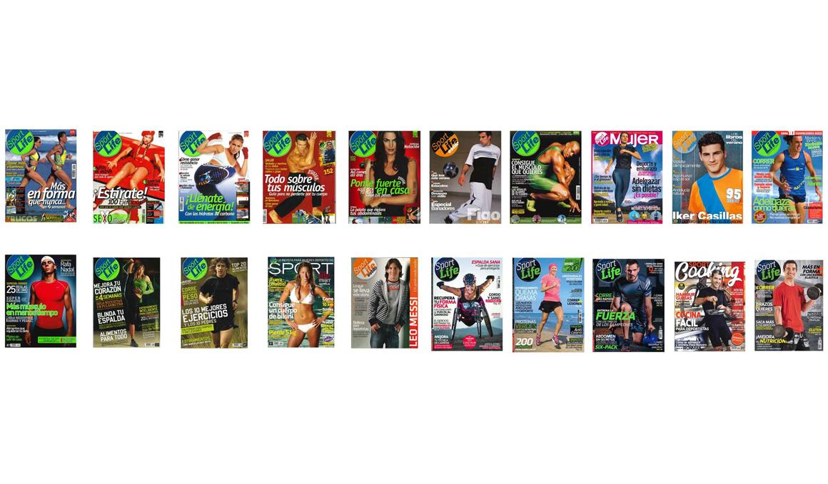 20 años de Sport Life en 20 portadas
