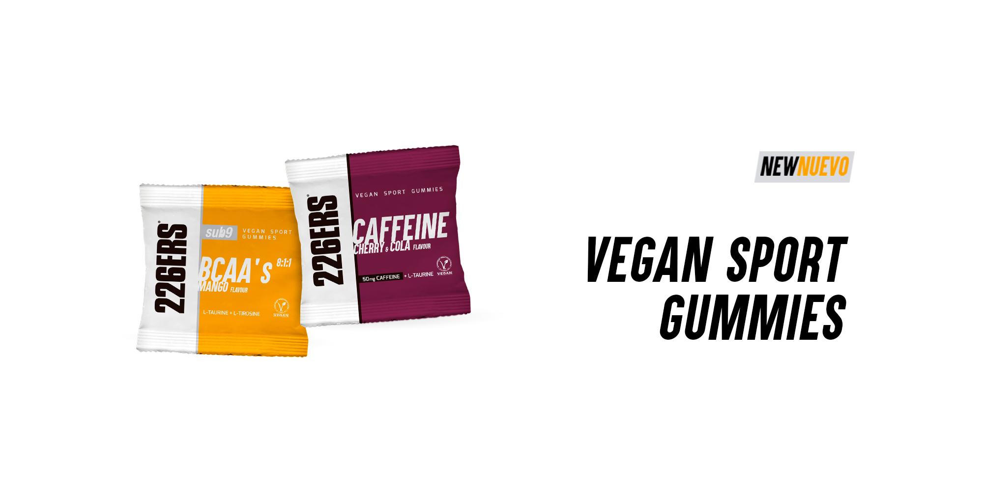 Las gominolas veganas que mejoran tu rendimiento