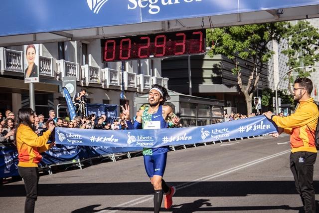 Fernando Carro y Azucena Díaz ganan la Carrera Liberty 2019