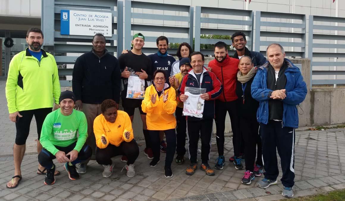 Zapatillas solidarias, el deporte para ayudar a las personas sin hogar