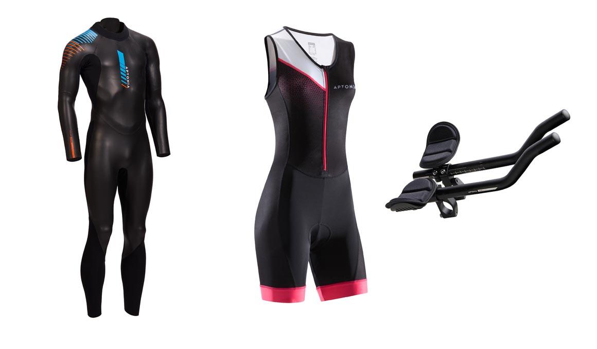Nueva gama para triatlón de Decathlon con neoprenos a partir de 99 euros