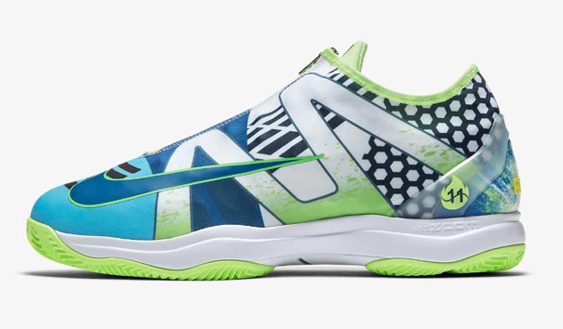 Las zapatillas con las que Nike homenajea a Nadal en Roland Garros