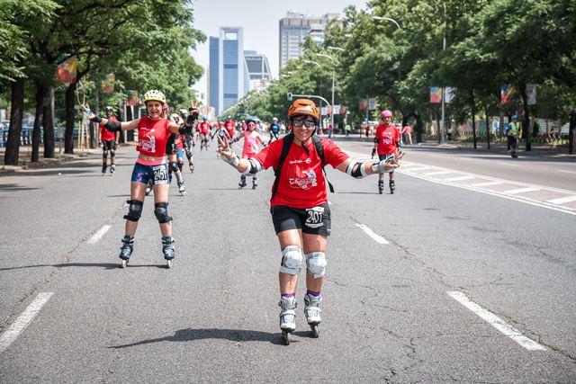 La gran fiesta del patinaje en Madrid