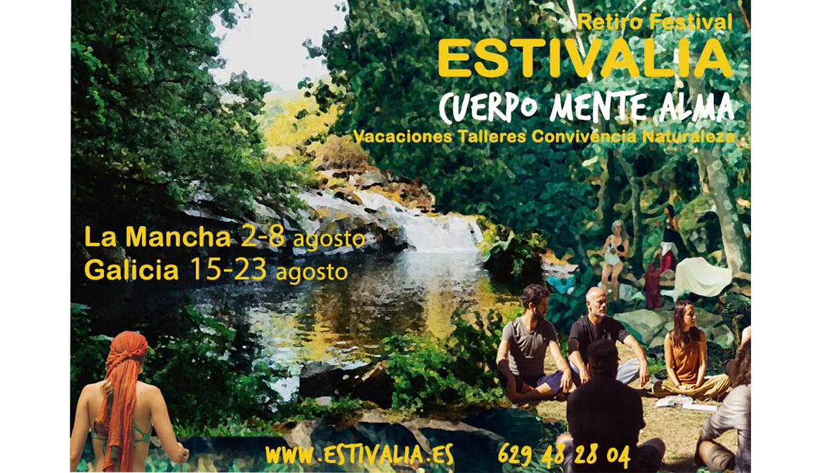 Estivalia, el Festival Healthy de desarrollo personal