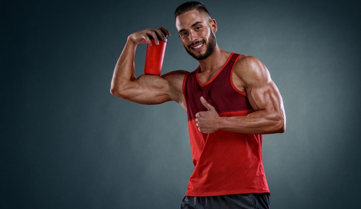 Añade colágeno a tus batidos para ganar más fuerza y masa muscular