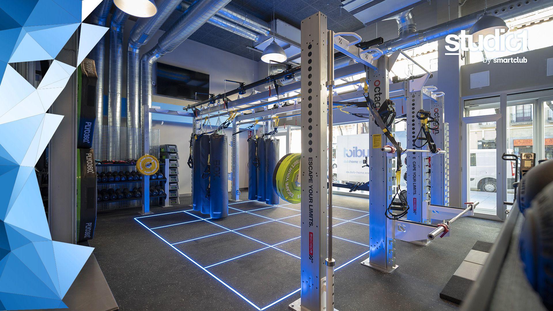 """""""La jaula"""" del fitness"""
