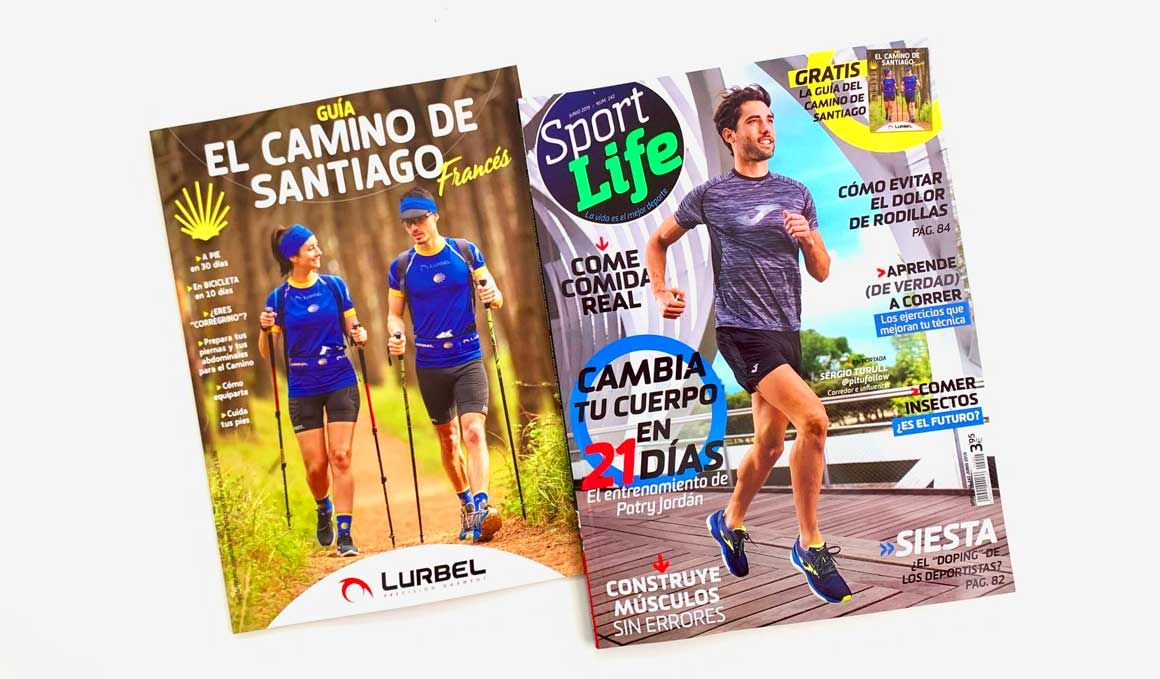 Sport Life te regala la Guía del Camino de Santiago