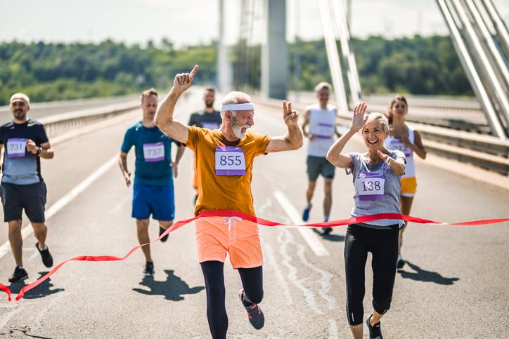 Rejuvenece estrenándote para correr y finalizar un maratón