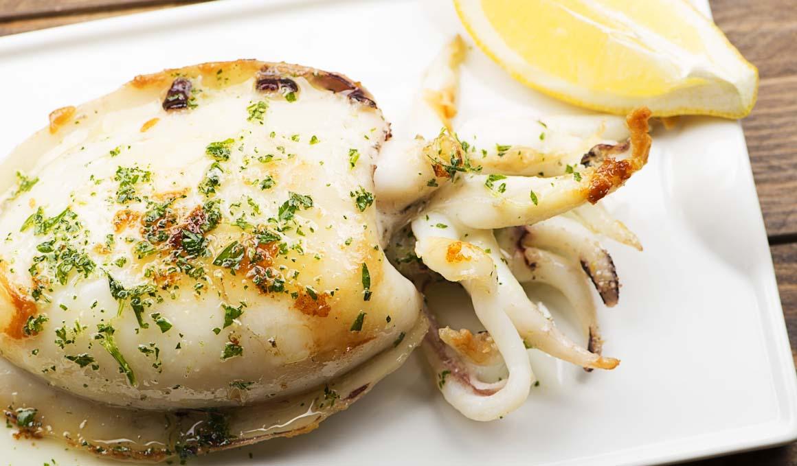 Sepia, proteínas y poca grasa para una cena fitness