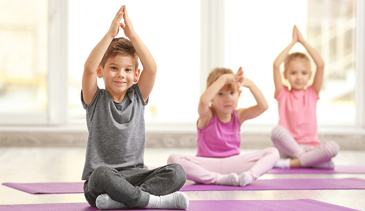 Yoga en familia este domingo en Madrid