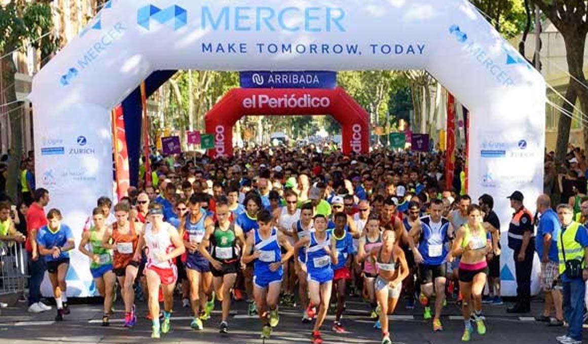 Corre 10 km por la Villa Olímpica de Barcelona