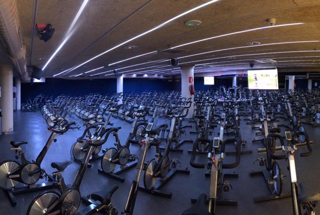 La sala de spinning más grande de Europa está en Barcelona