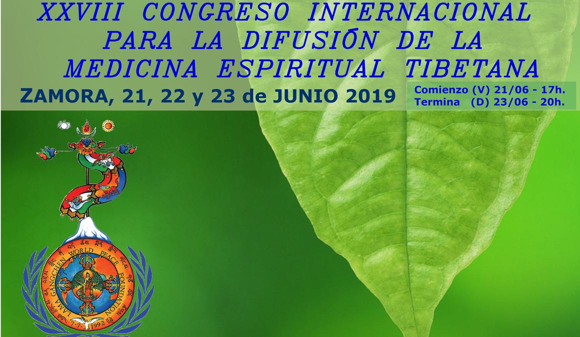 XXVIII Congreso Internacional de Medicina Espiritual Tibetana