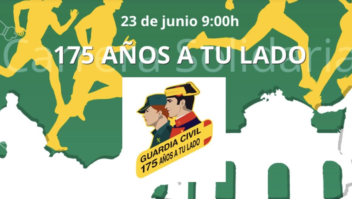 La Guardia Civil celebra su 175 aniversario con una carrera popular por el centro de Madrid