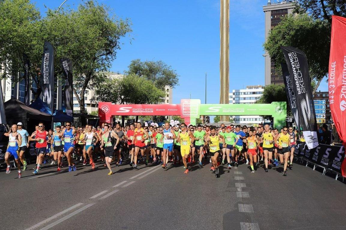 El Norte derrota al Sur corriendo por las calles de Madrid