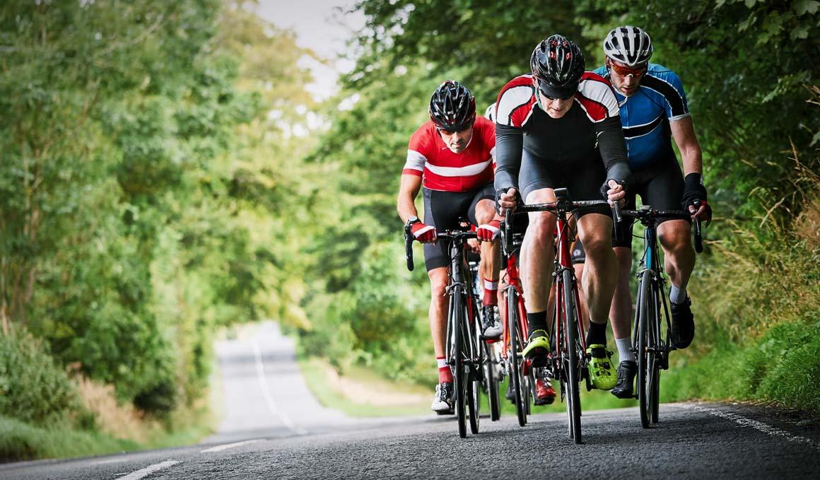 Ciclista, aprende a pedalear en pelotón