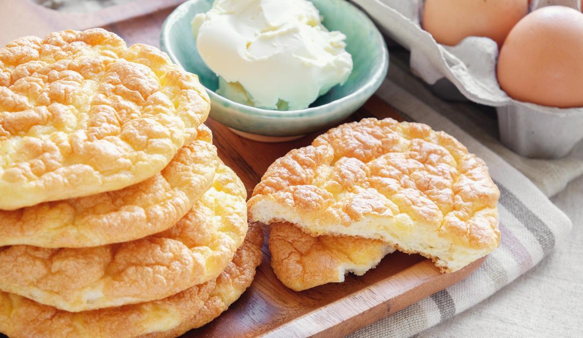 ¿Qué es el Pan Ceto o el Cloud Bread?