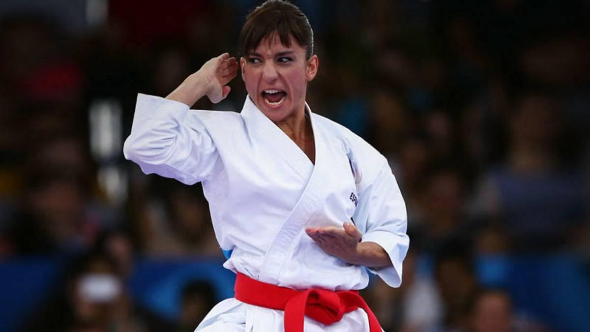 Sandra Sánchez y Damián Quintero, doble oro en kárate en los Europeos