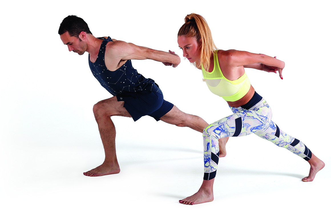 Aumenta tu flexibilidad en pareja