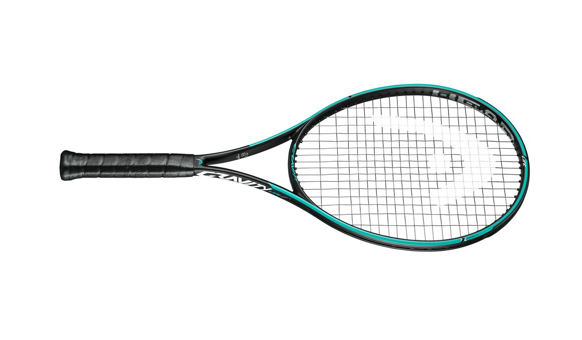 Así es la nueva línea de raquetas de tenis Gravity de Head