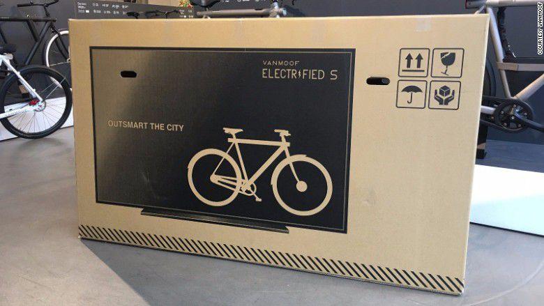 ¿Por qué las cajas de las bicis llevan pintado un televisor?