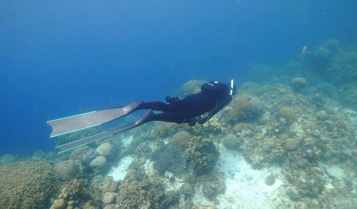 La mochila que te impulsa bajo el agua