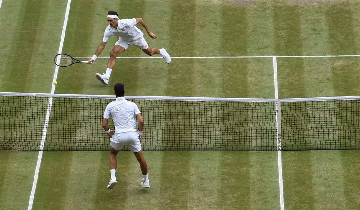 Así fue la final más larga de la historia de Wimbledon que ganó Novak Djokovic