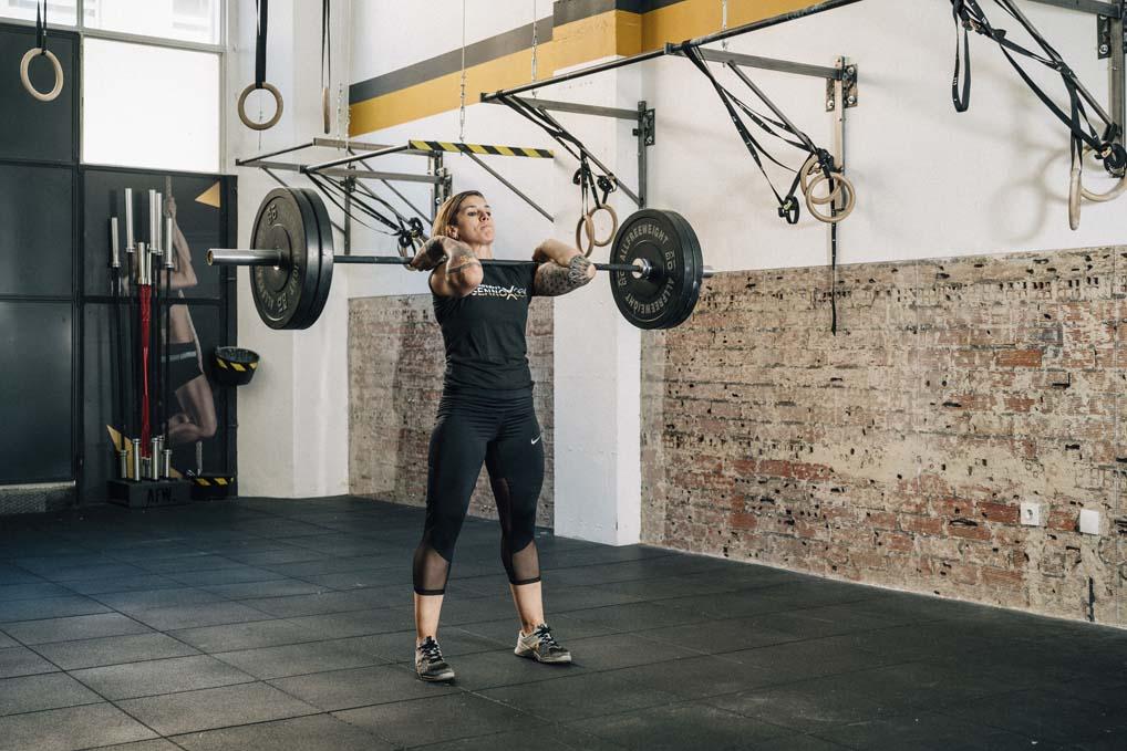 CrossFit, entrenamiento de alta intensidad Héroe Holleyman