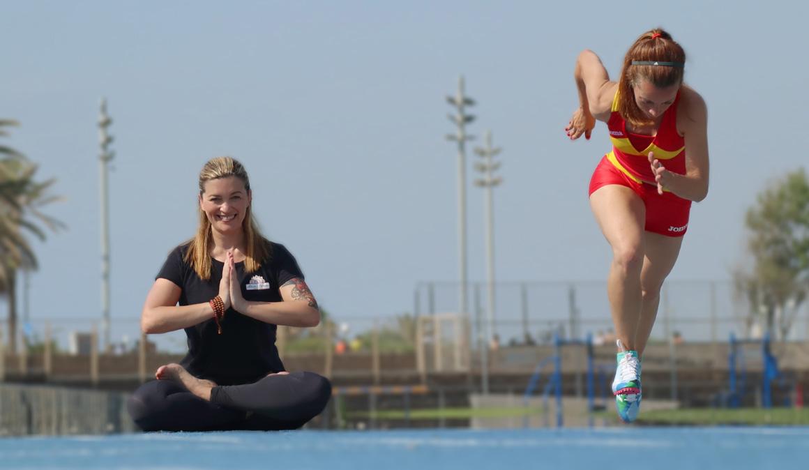 Yoga tibetano y atletismo, una combinación que funciona