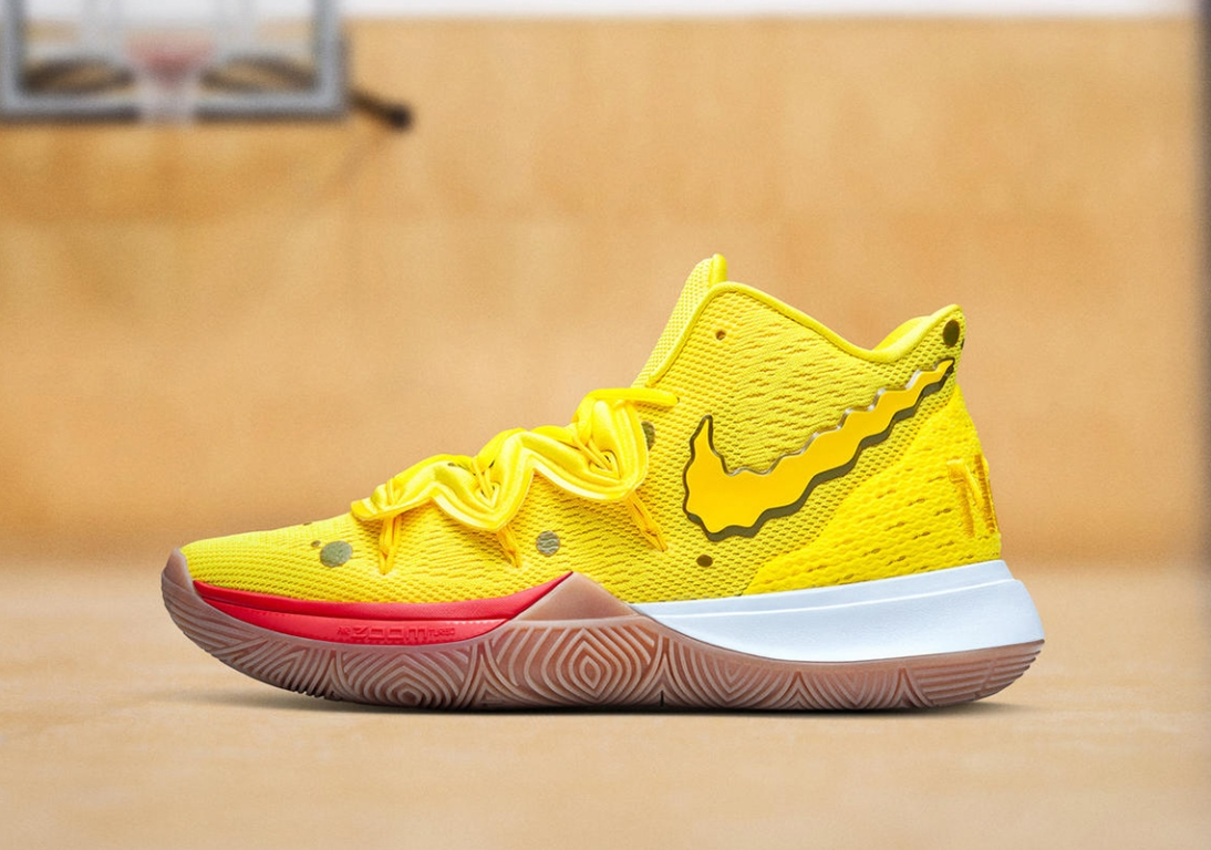 Las Nike de Bob Esponja