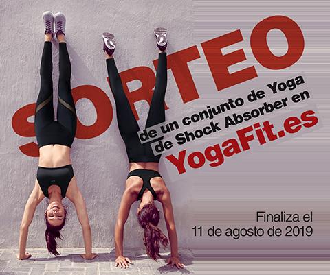 Sorteo de 1 conjunto de sujetador y legging para yoga de Shock Absorber