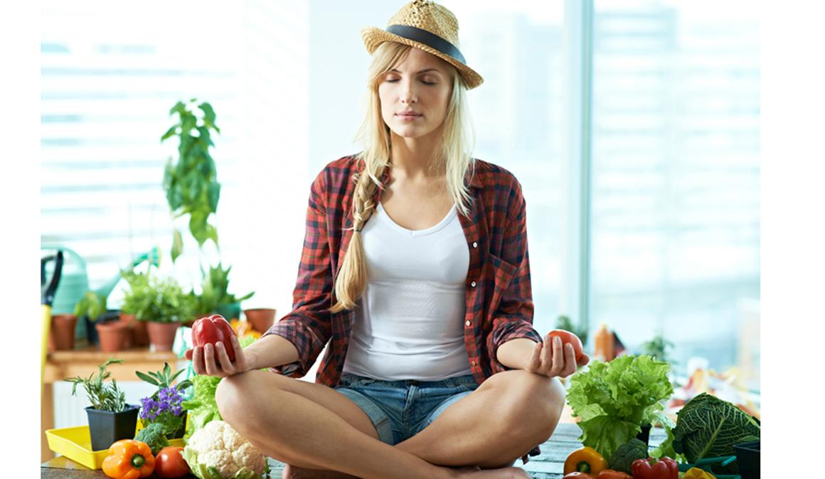 Yoga y chakras, somos lo que comemos (o lo que deberíamos comer)