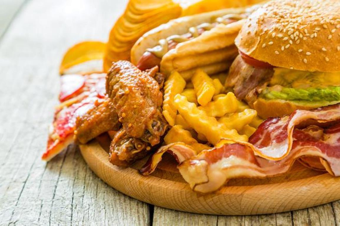 Adicto a la comida con grasa
