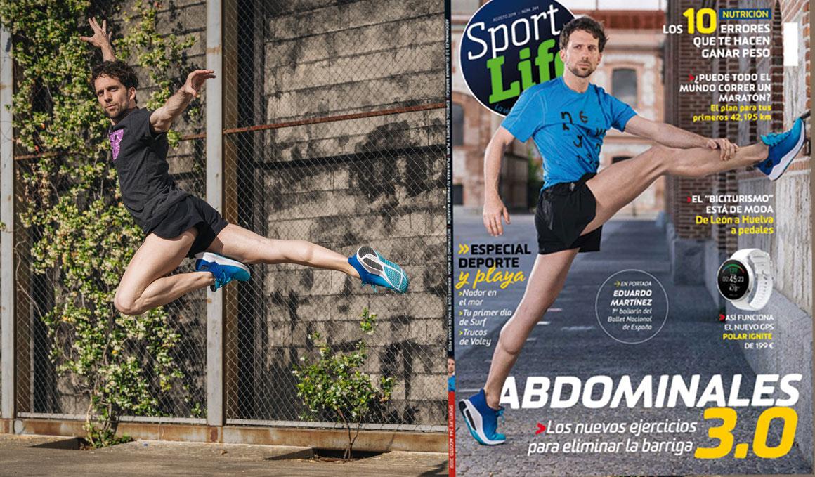 Conoce al protagonista de Sport Life de agosto, el bailarín Eduardo Martínez