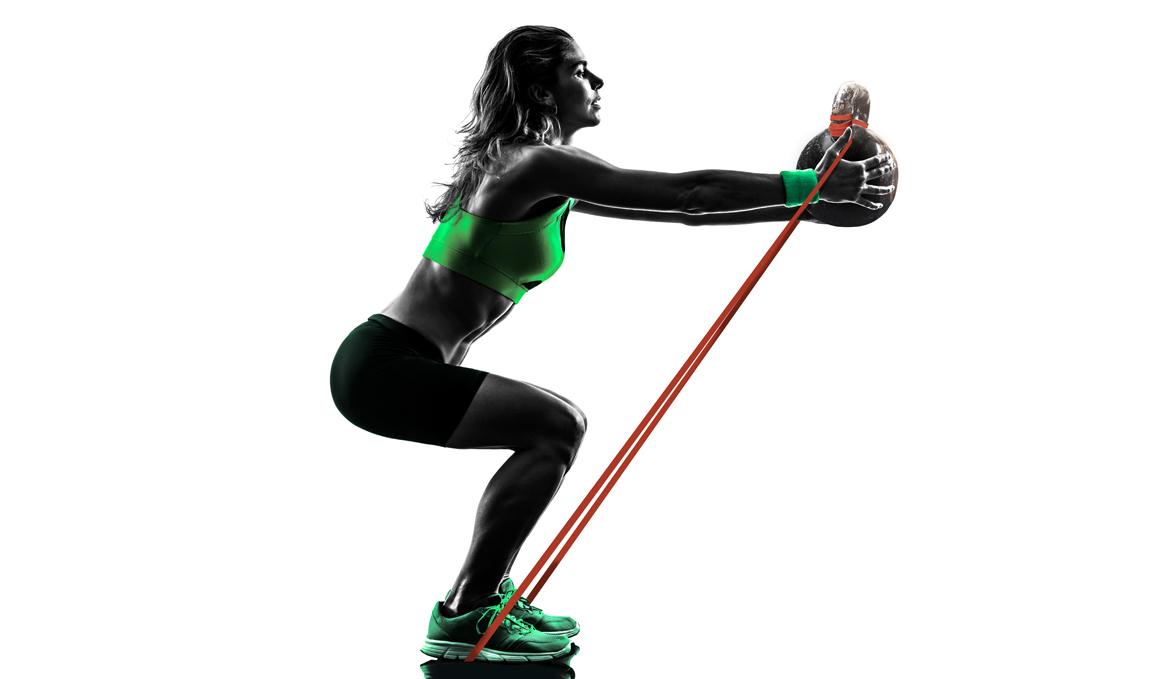 Una banda elástica para ponerte muy fuerte con estos ejercicios