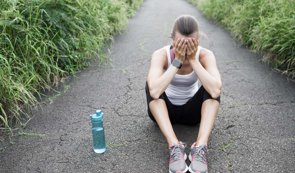 Las claves para superar la depresión post reto