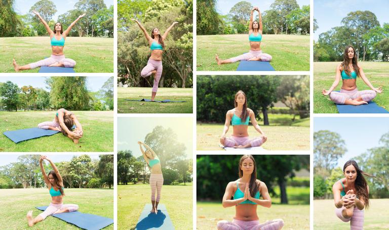 Secuencia de Yoga para después de entrenar en verano