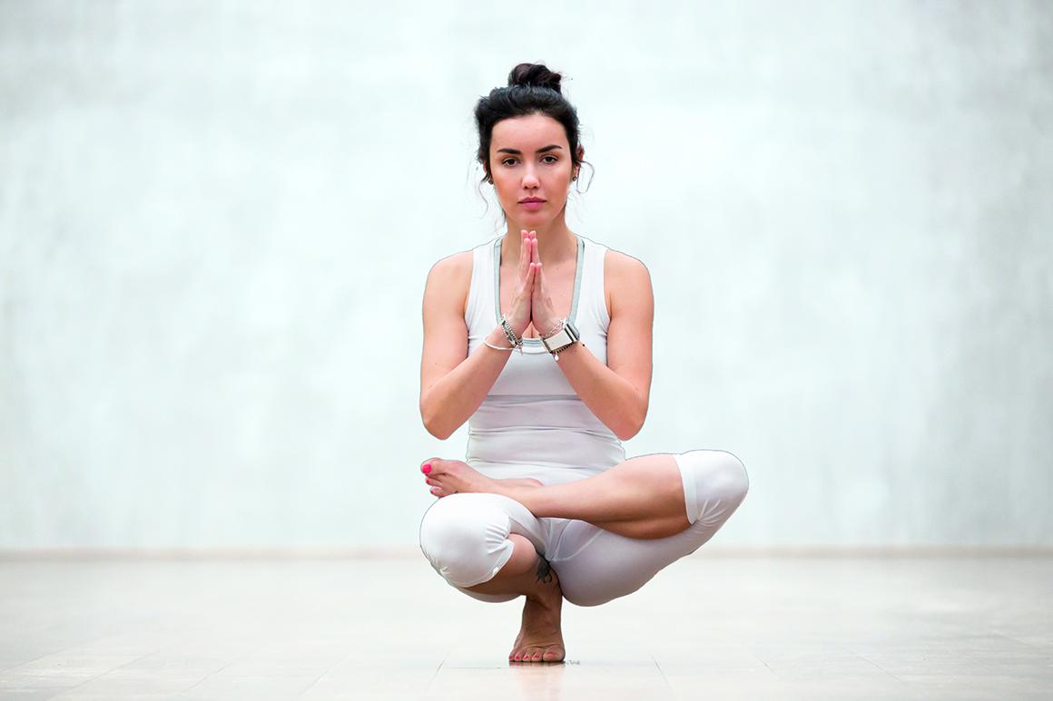 Tabla de yoga para corredores