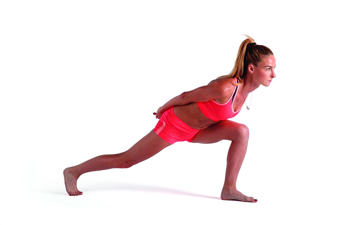 Yoga para ser más flexible con la marchadora Raquel González