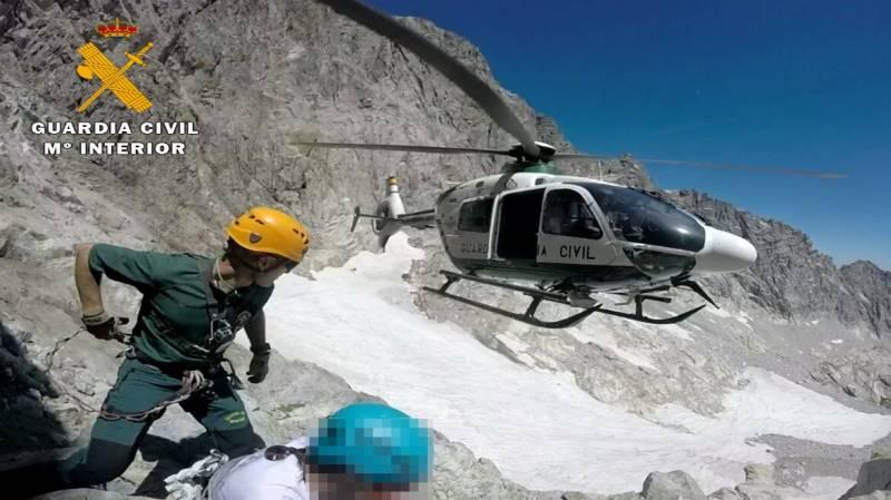 Un muerto y 11 rescatados este fin de semana en el Pirineo de Huesca