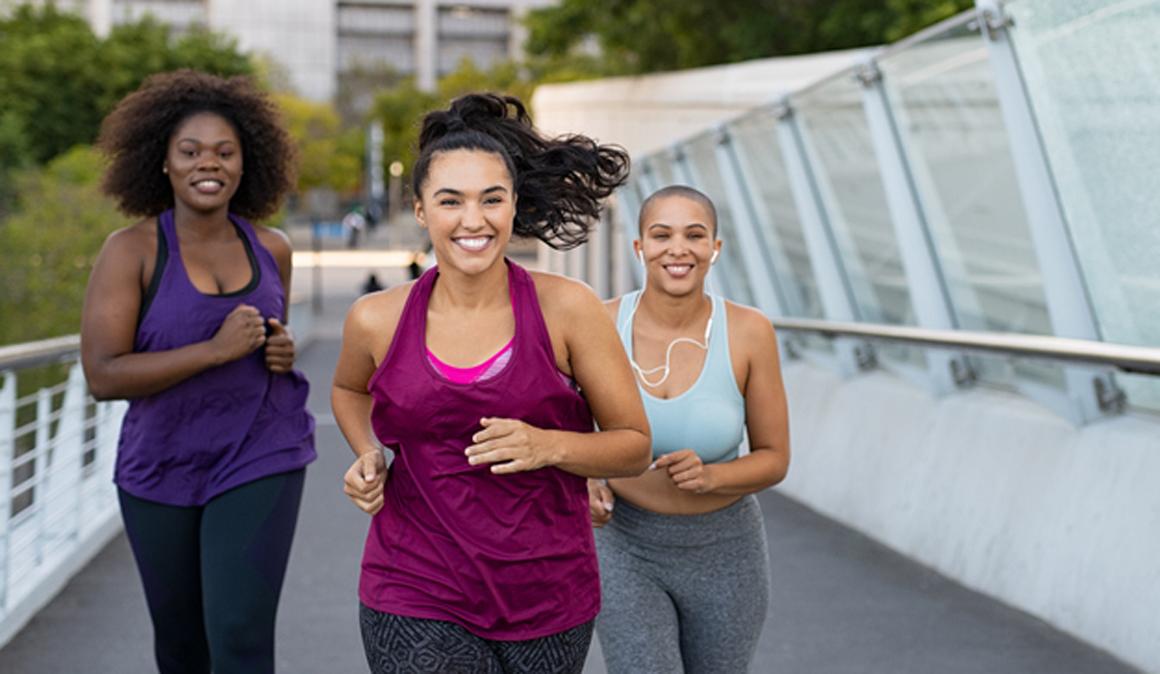 Correr ayuda a reducir el dolor durante la menstruación